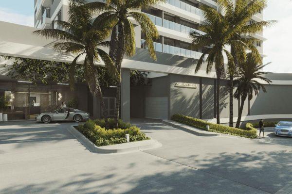 lobby apartamentos en rodadero santa marta